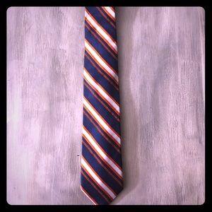 NWOT Brooks Brothers Blue/Orange Tie